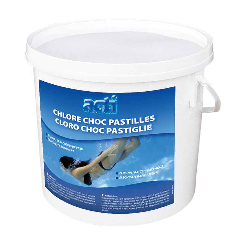 ACTI-CHEMICAL Chlore choc 5kg