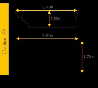 Piscine Excel Modèle Ovation 66