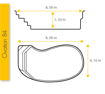 Piscine Excel Modèle Ovation 84